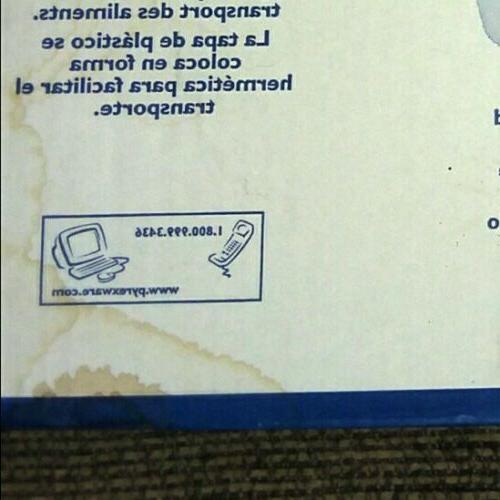 "PYREX 1102267 Food Storage blue- piece 9""-13"""