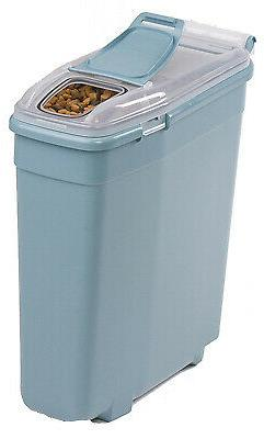 "BERGAN 11724  Blue PET FOOD SMART STORAGE SMALL BLUE 14"" X 6"