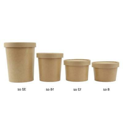 12 To Non Lids - Disposable Food Storage