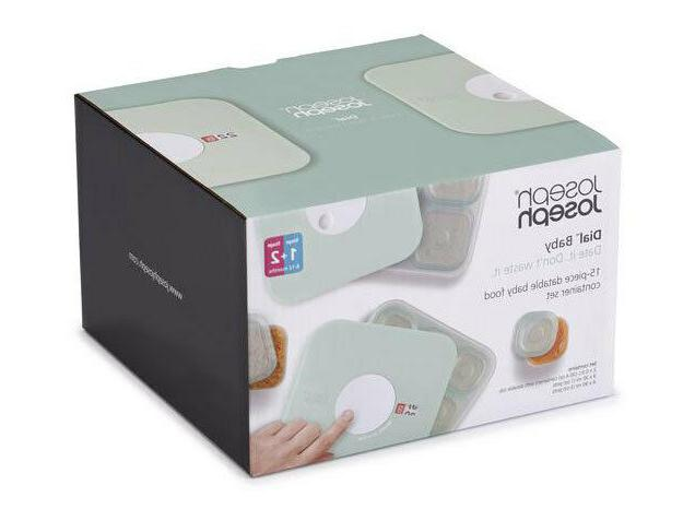 15 piece dial baby food storage container