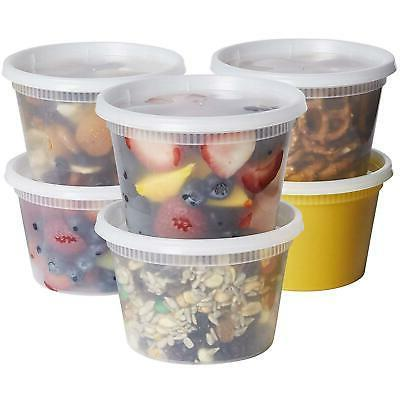 16 oz deli food storage containers