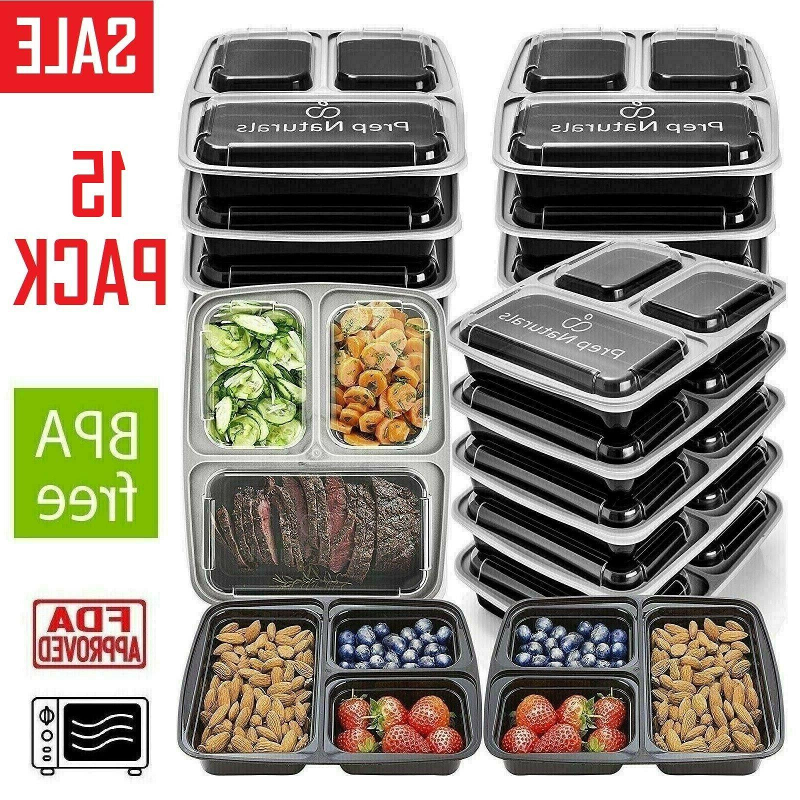 16 pack meal prep containers food storage