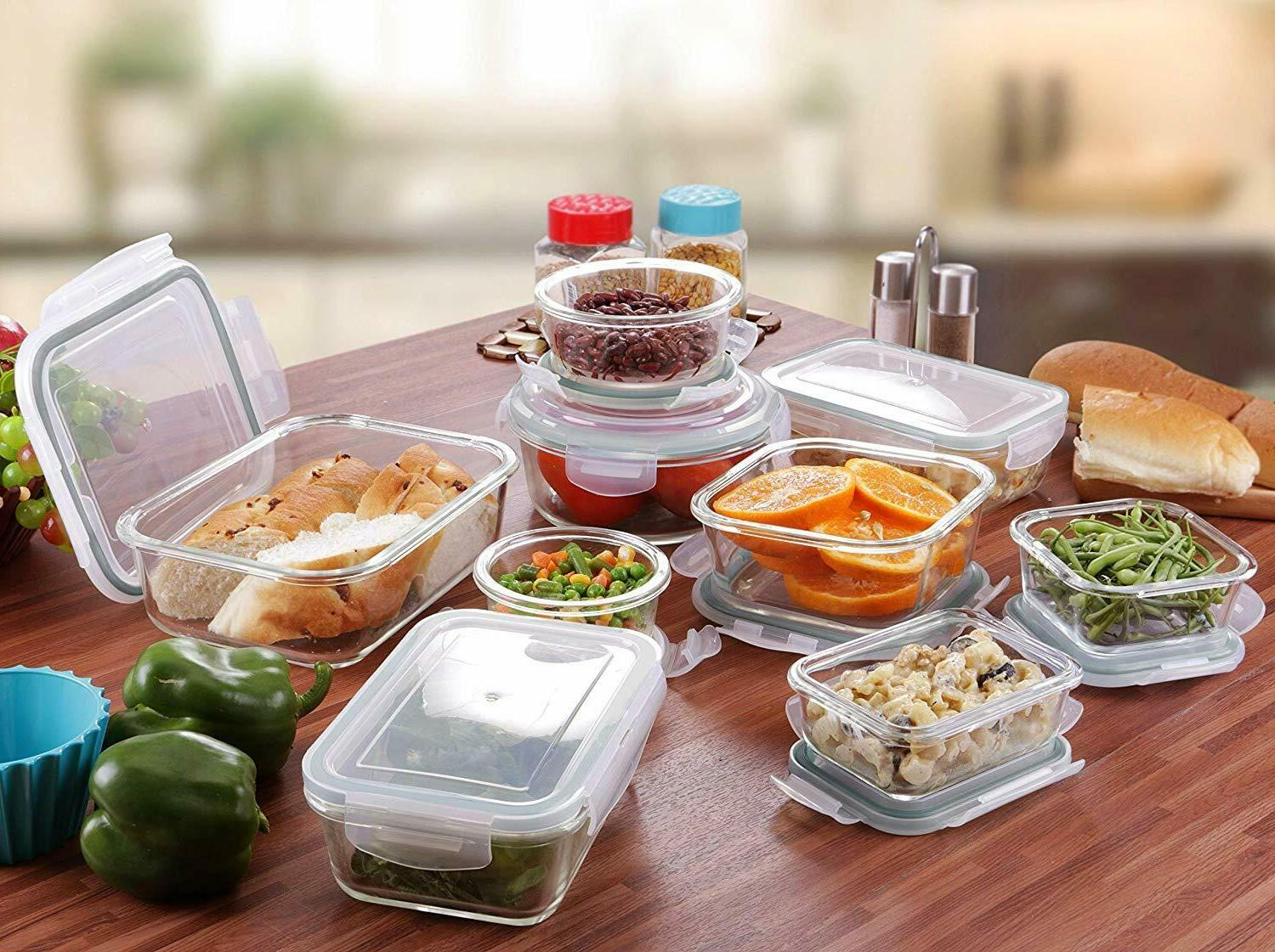 Storage Container with Airtight Lids Utopia