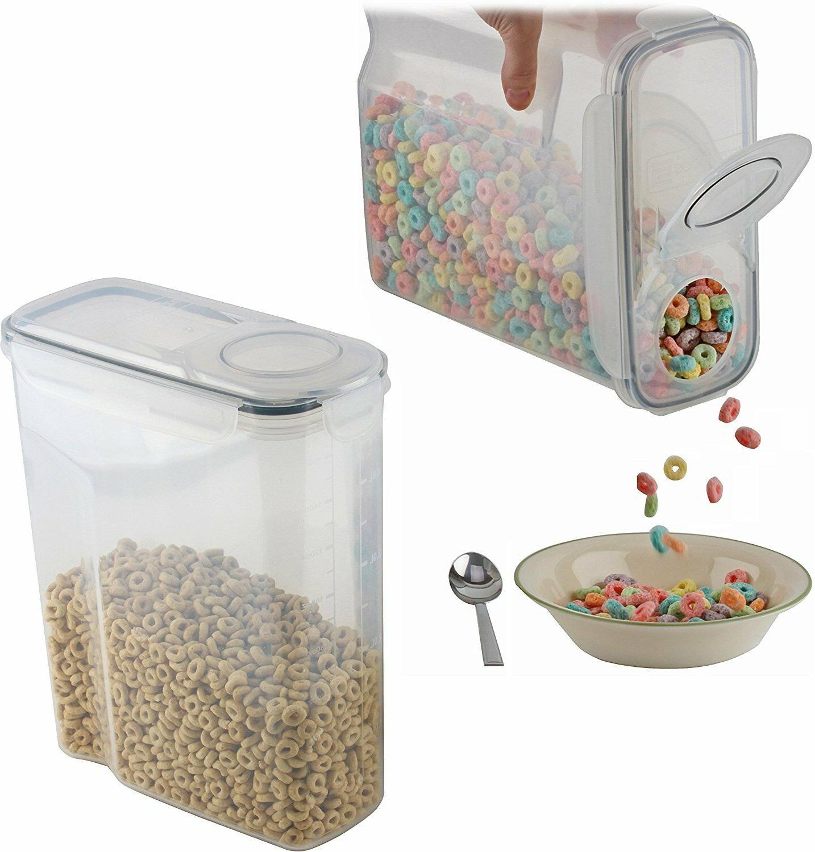 2 pack large cereal keeper food storage