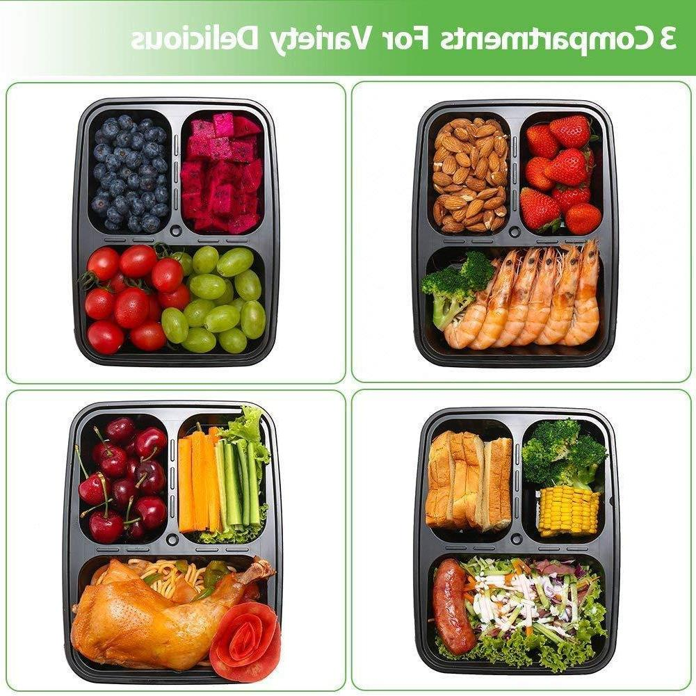 Containers Food Storage Compartment Reusable
