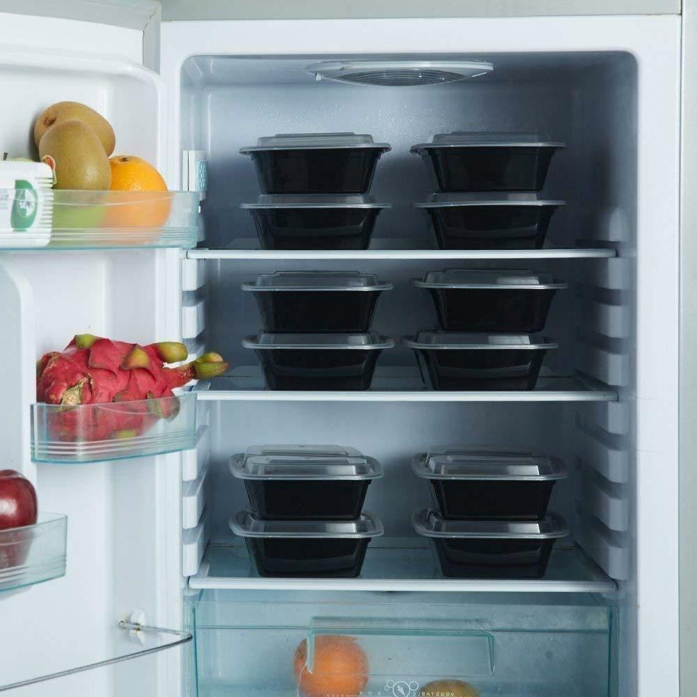 20 Containers Food Storage Microwave