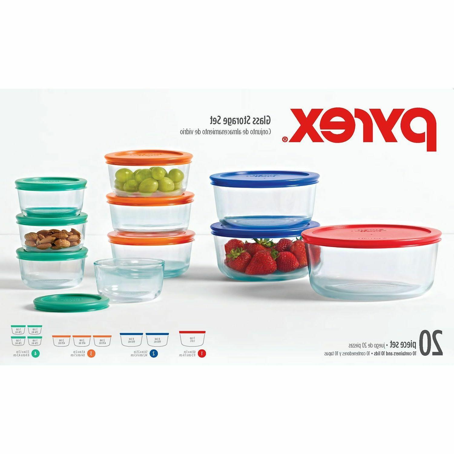 Pyrex Piece Glass Lunch Safe