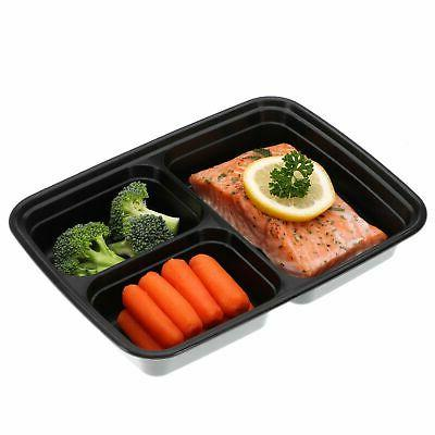 21 Pack Containers Food Storage Compartment