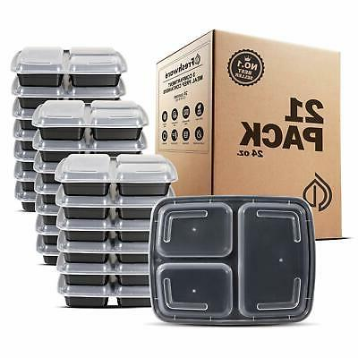 21 Pack Containers Compartment