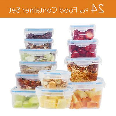 24 Storage Containers Blue