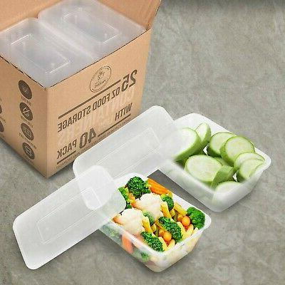 25 oz Containers Lids