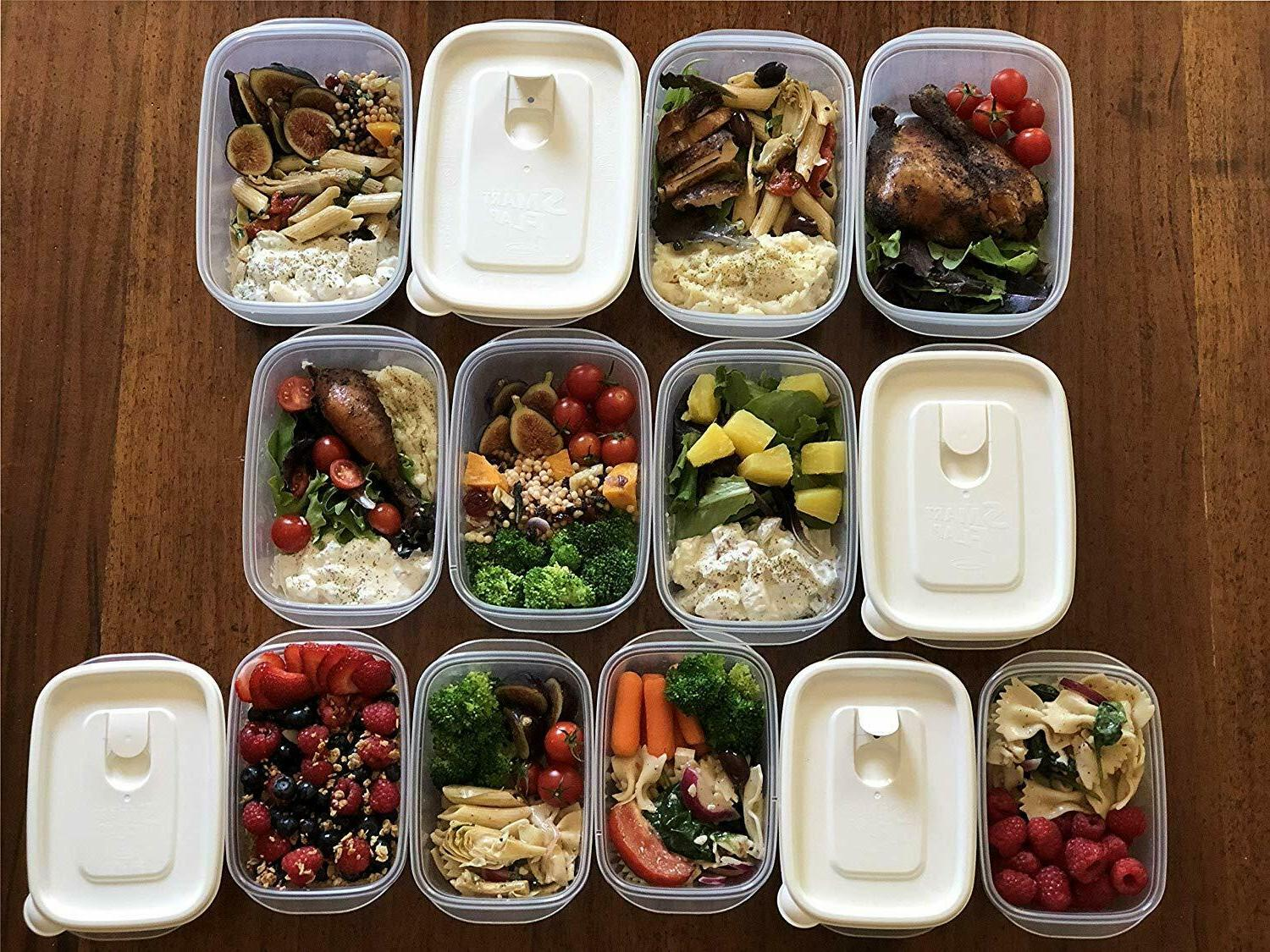 28pc set meal prep food container microwave