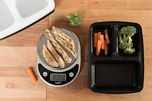 Meal Prep Haven Compartment Food Airtight Lid, Bento Lunch Box Meal Prep, Fix and Control, Set of