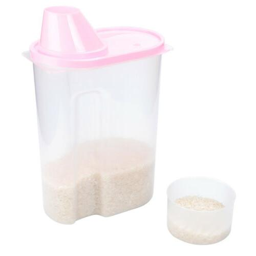 3 Large Cereal Keeper Food Storage 2.5L, proof, Free