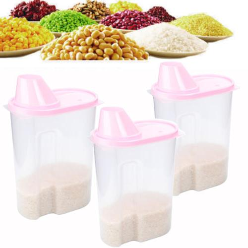 3 pack large cereal keeper food storage
