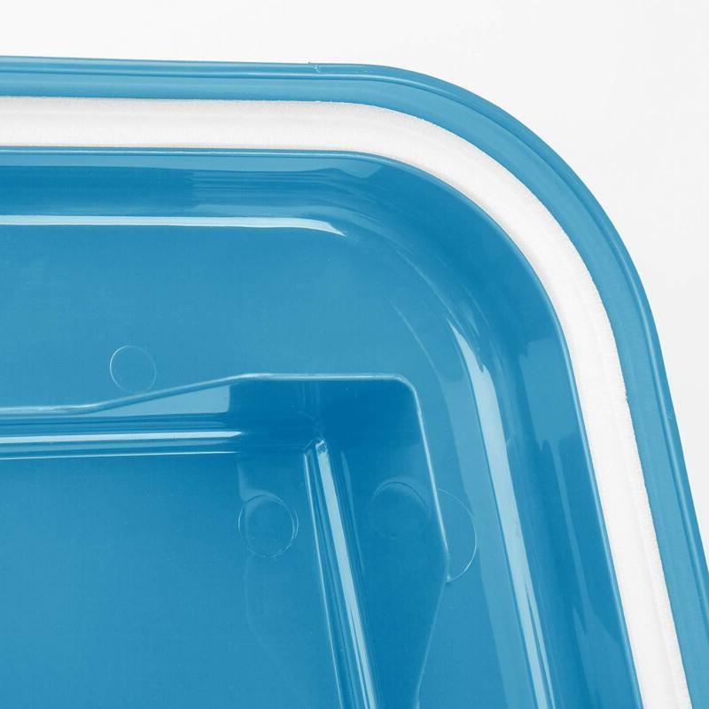 3-Piece Airtight Cat Food Storage Container Bins Lock