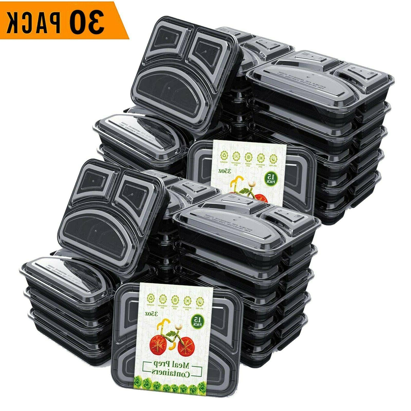 30 pack meal prep containers food storage