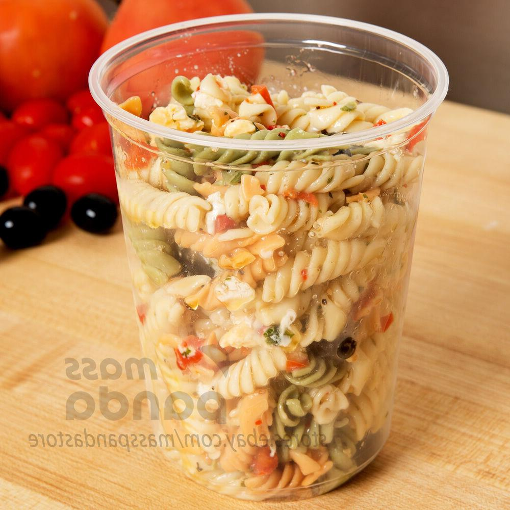 32oz Deli Food/Soup Restaurant Container Lids