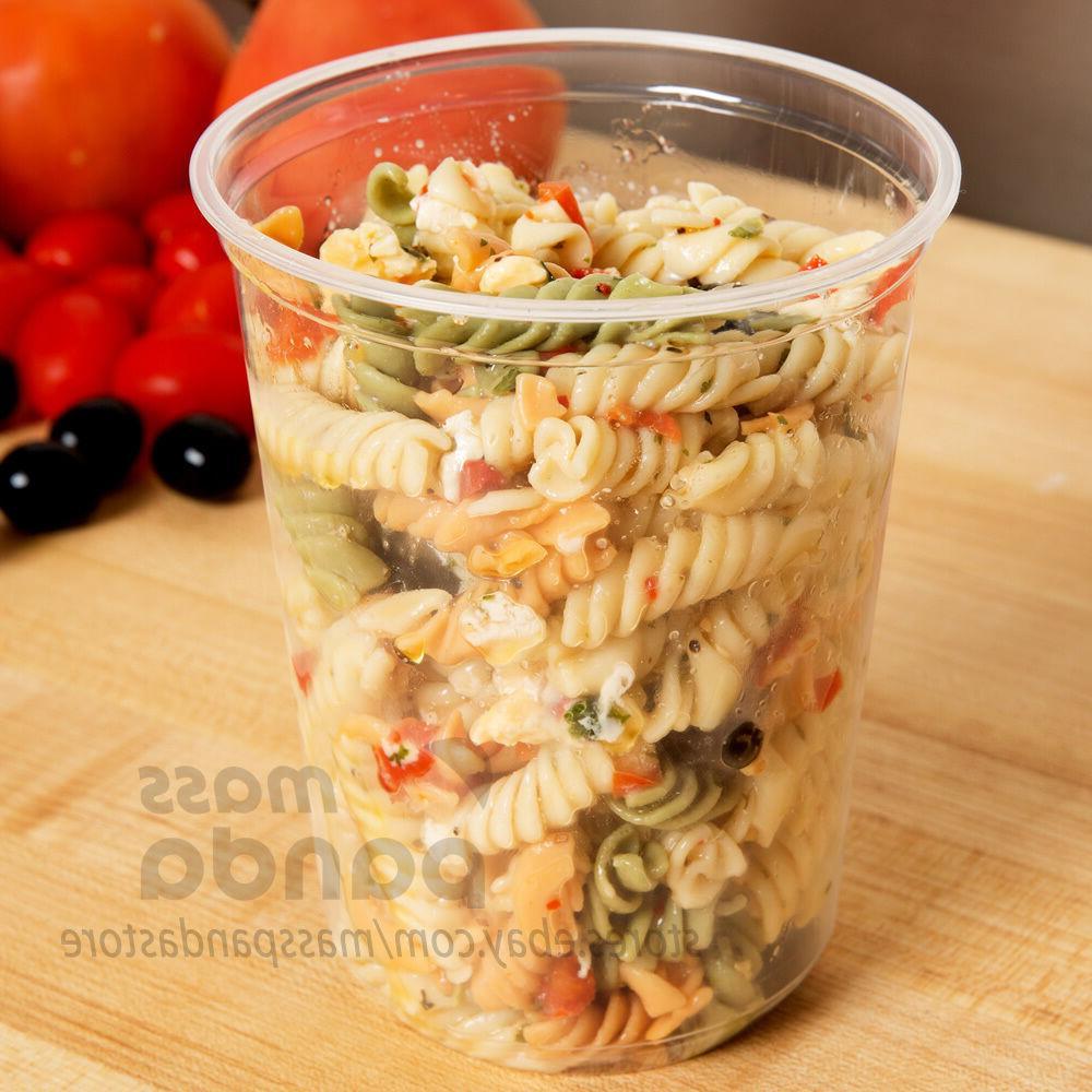 32oz Deli Food/Soup Restaurant Container Lids