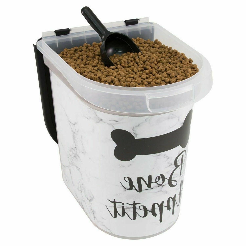 37912 plastic pet food bin