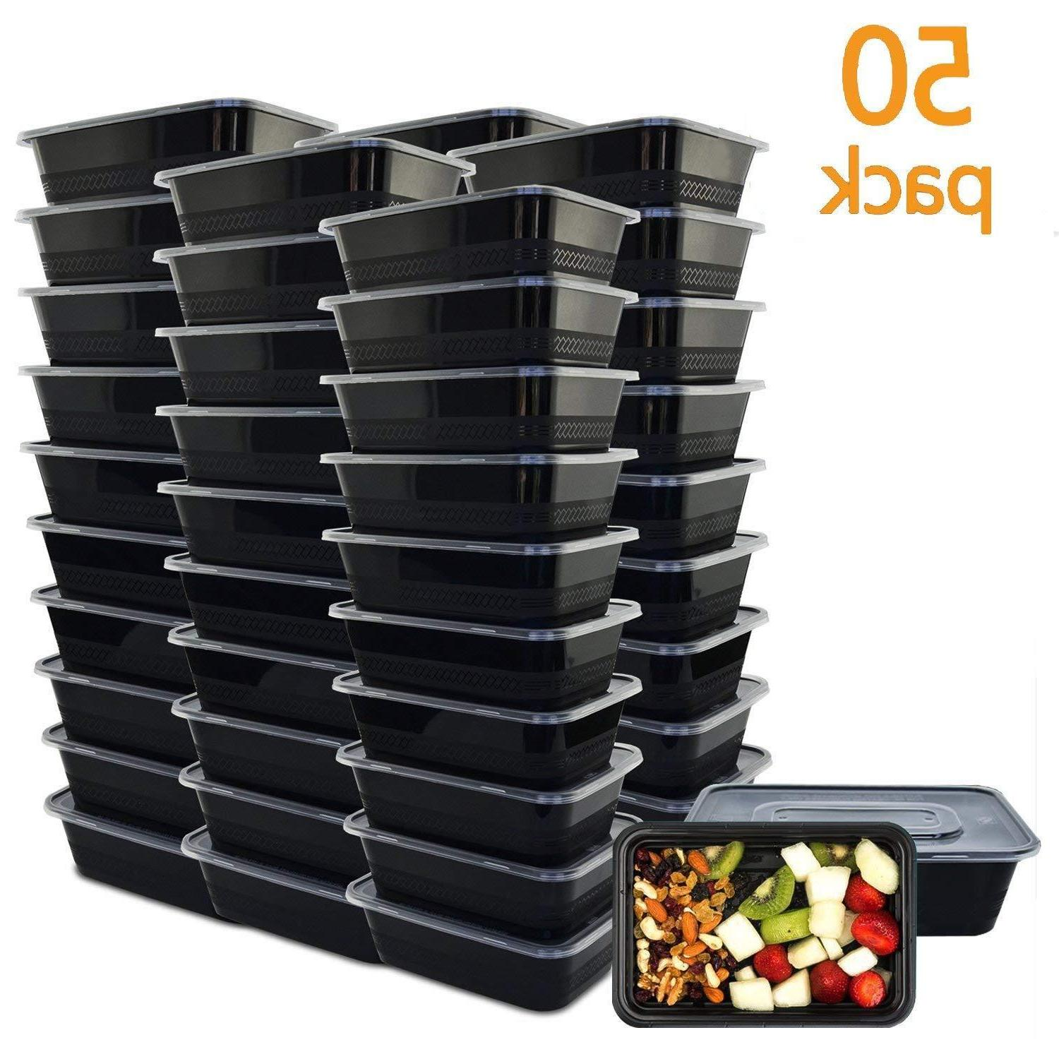 50 Prep 1 Compartment Boxes Safe