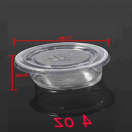 50/100*Disposable Chutney Container Storage