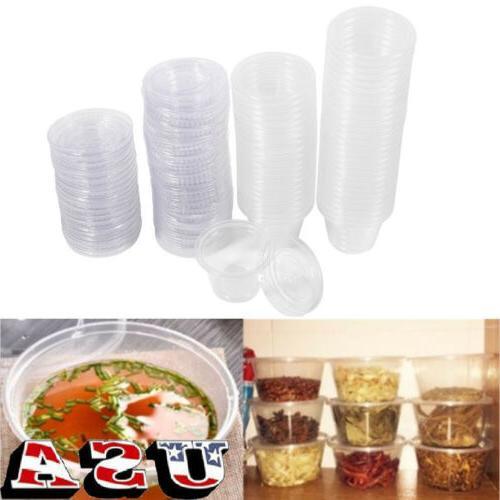 50 100 disposable plastic condiment