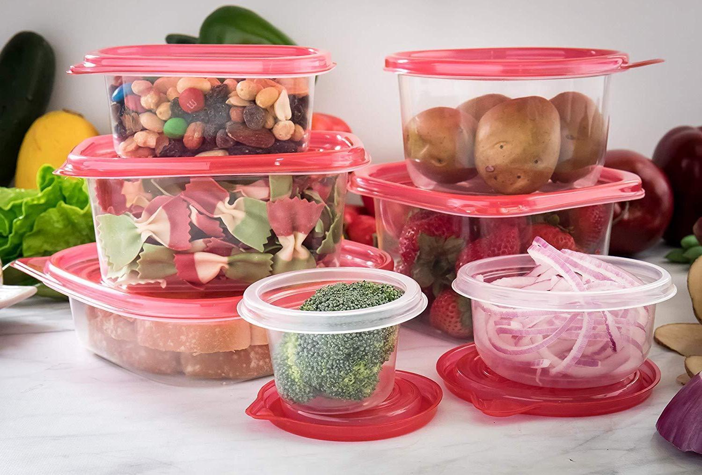 Container Set BPA Microwave Dishwasher Freezer