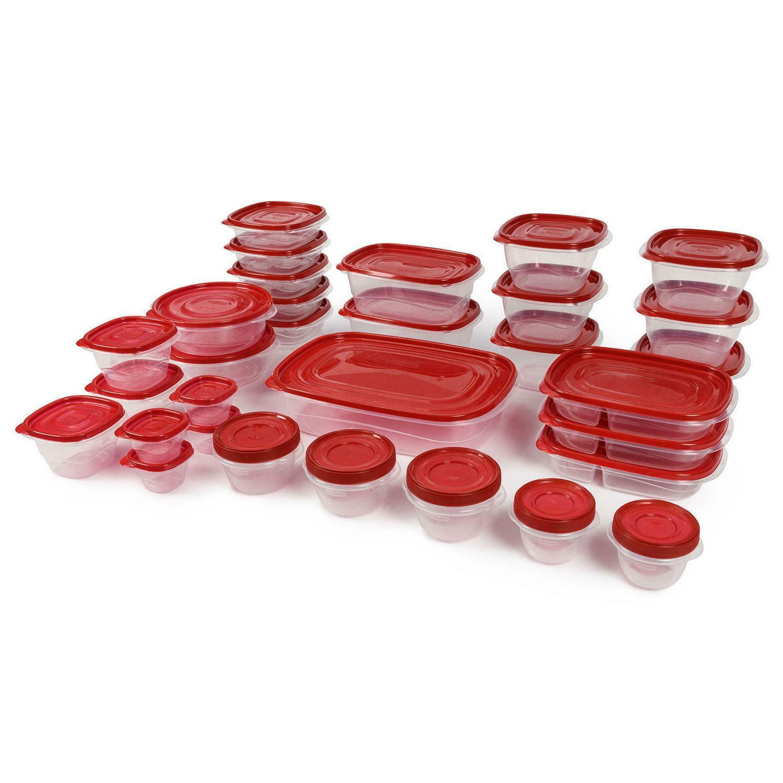 Rubbermaid 64-Piece TakeAlongs Food Storage Set