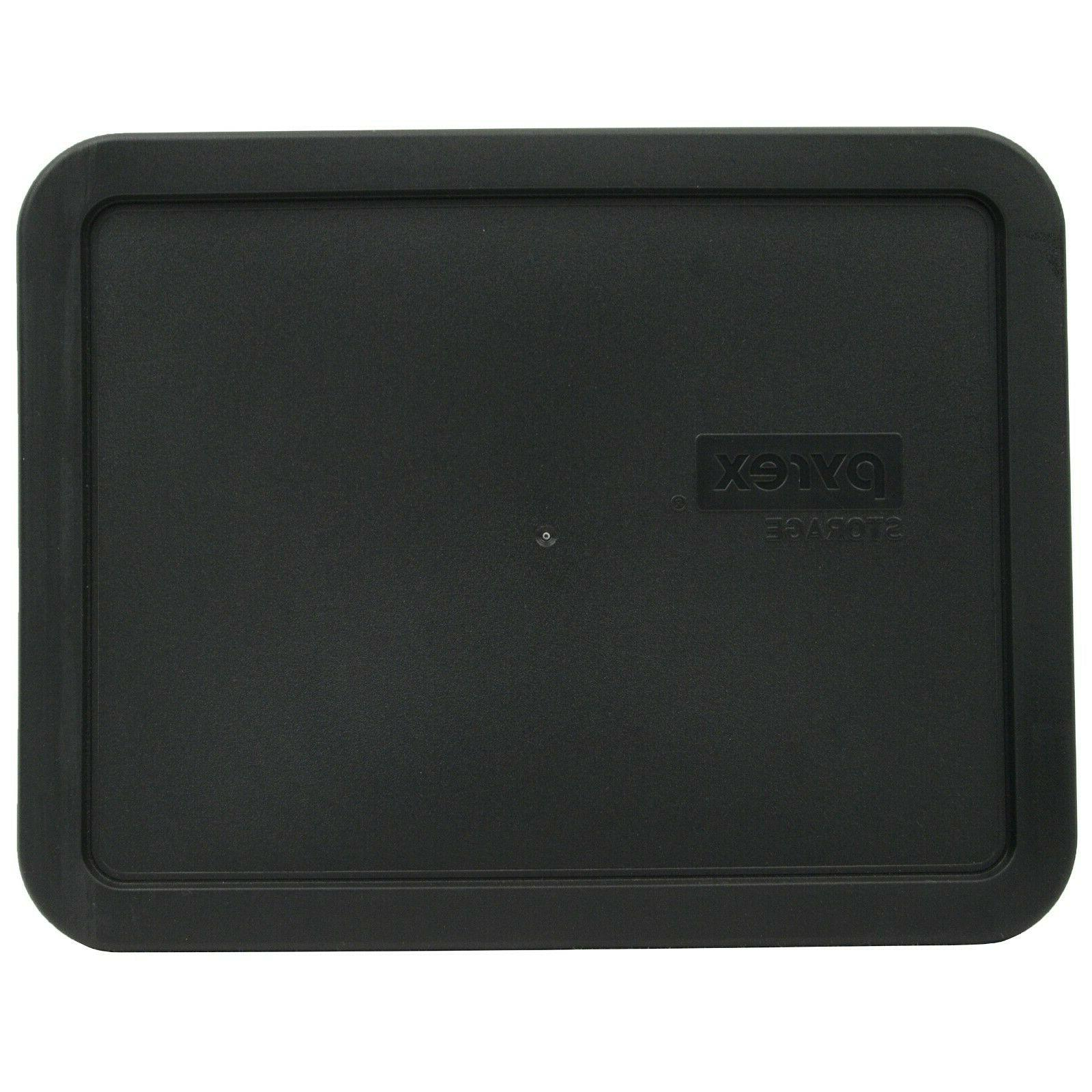 7211 pc black rectangle food storage replacement
