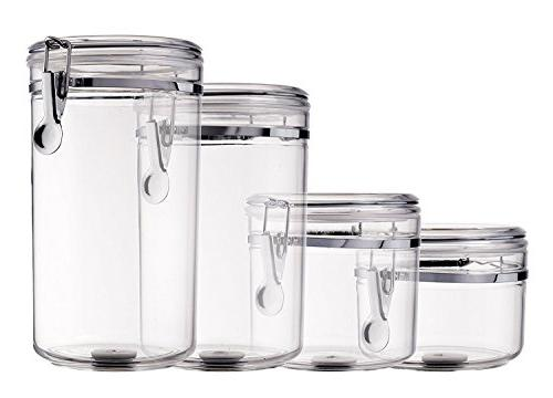 Bellemain Airtight Acrylic Canister Storage Container