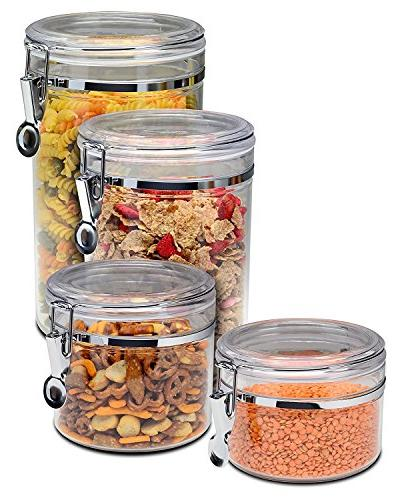 Bellemain Piece Acrylic Canister Storage