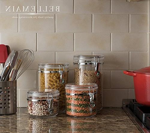 Bellemain Acrylic Canister Set, Storage