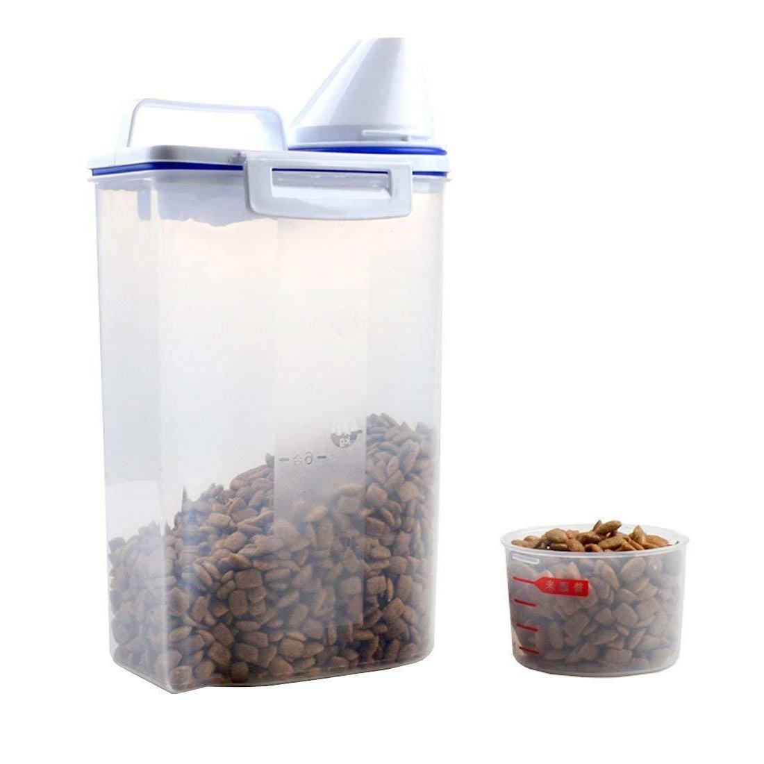 Pet Storage Airtight Measuring Cup Clear 2.5L