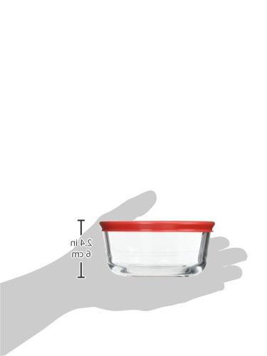 Pyrex 6-Piece Glass Food Storage