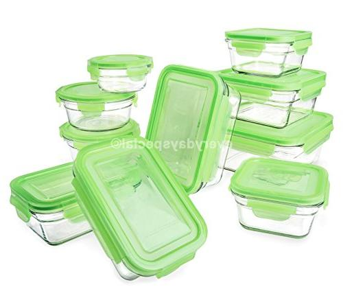 Snapware piece Tempered Glasslock Storage Containers with Snaplock & Oven