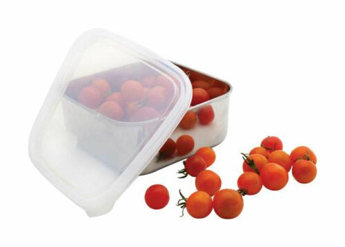 U Konserve To-Go Container, Small, Stainless/Clear