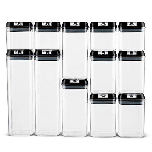 Airtight Container Set 18 Marker - Duty Free Storage Interchangeable Easy
