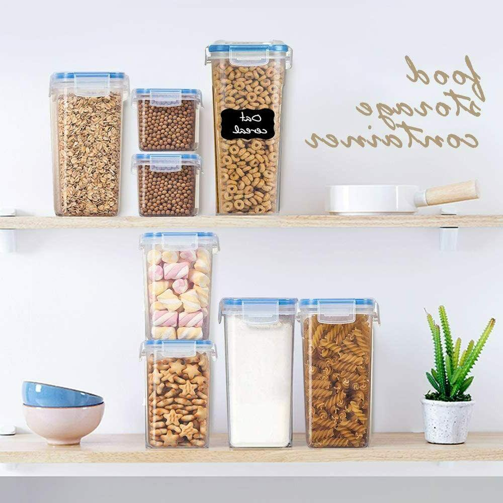Airtight Kitchen Cereal Containers Set