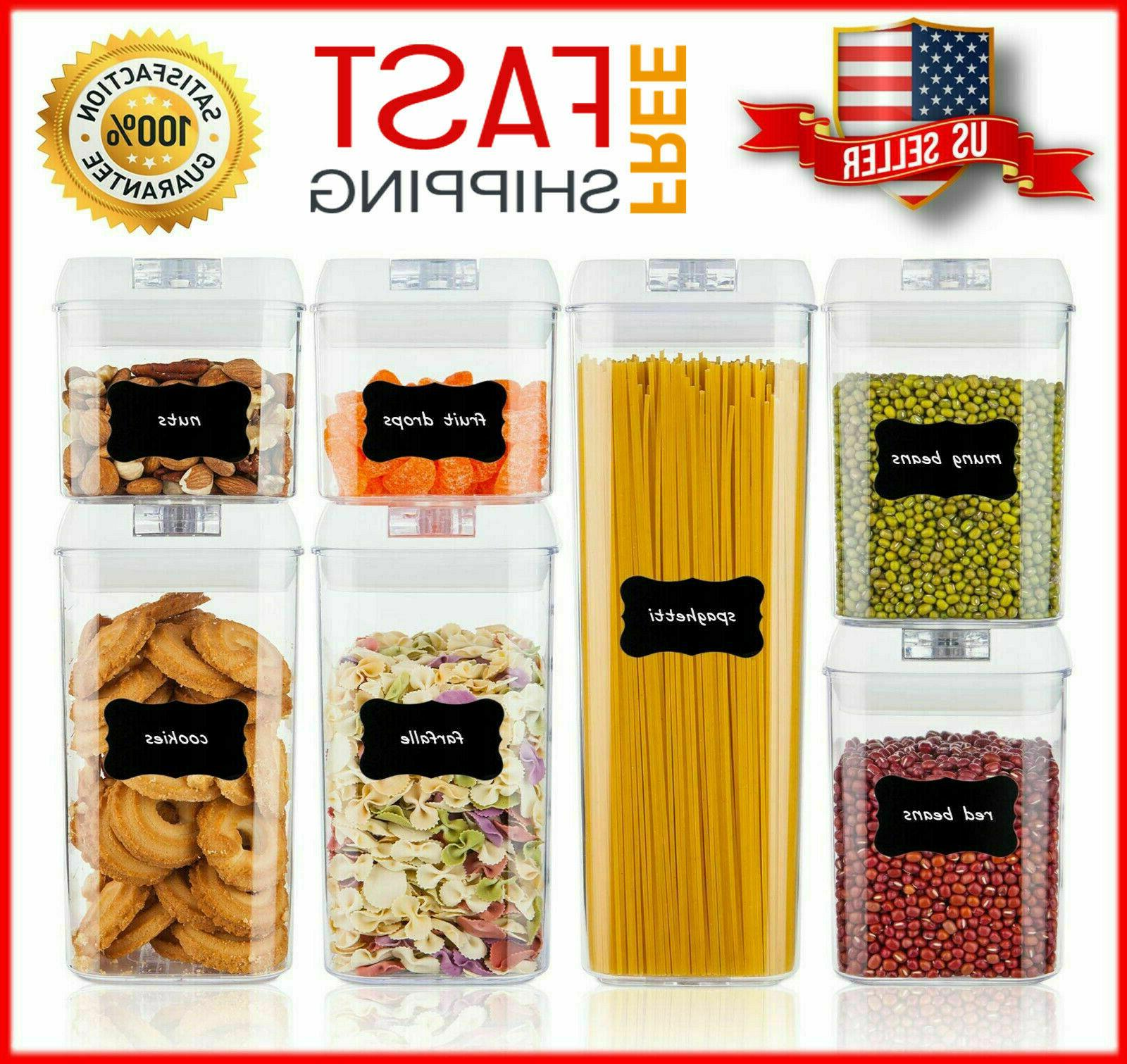 airtight food storage containers set vtopmart 7