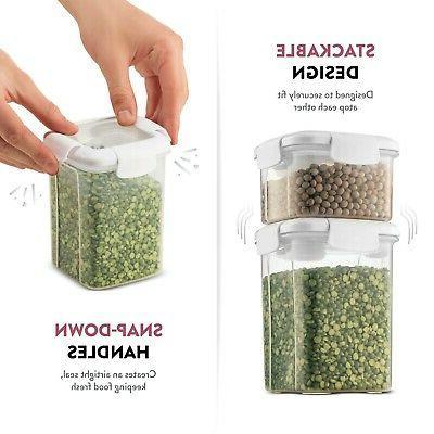 Airtight With Plastic Pantry Storage