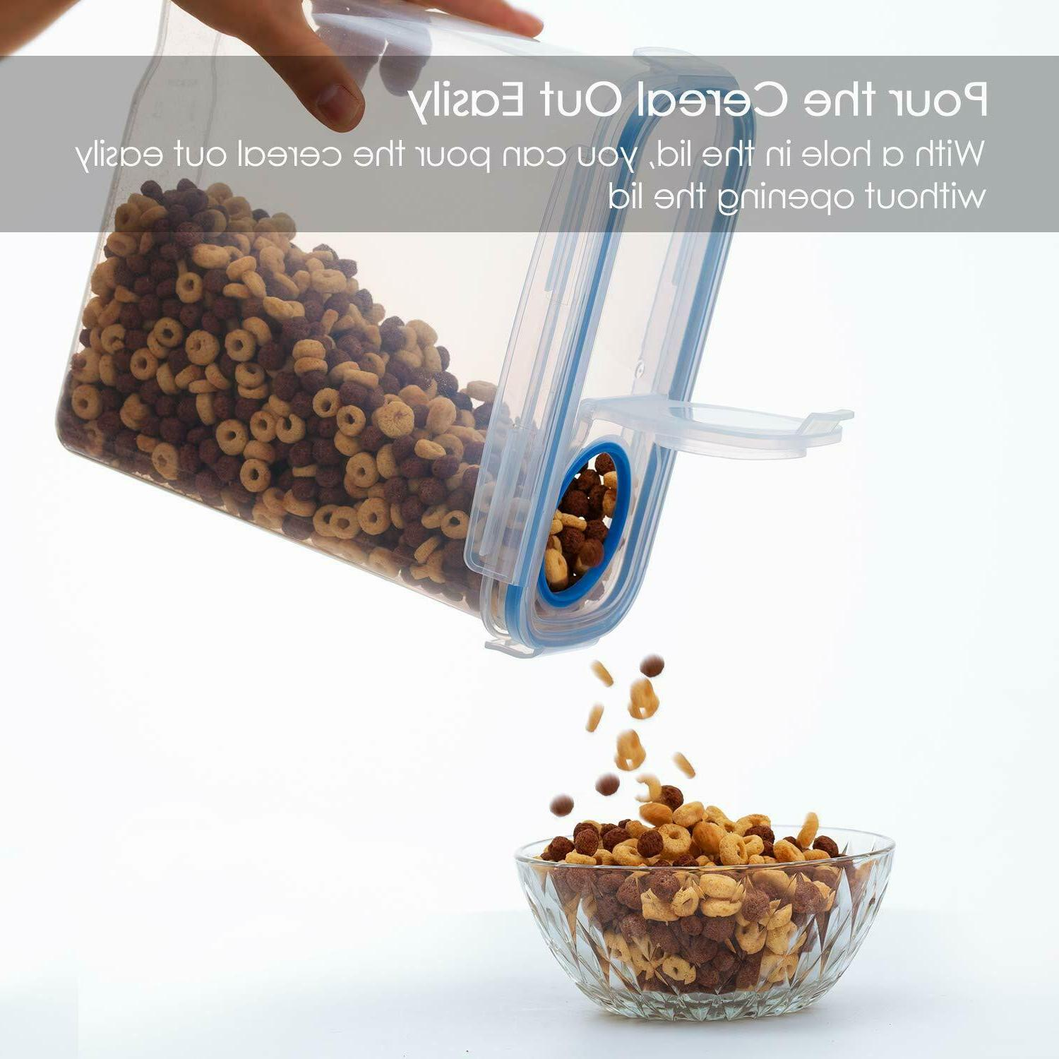 Airtight Food Storage of 4 Free