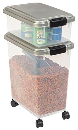 Airtight & Storage Plastic Chrome