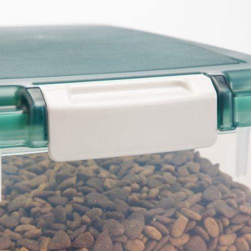 IRIS Pet Food Treat Storage Green