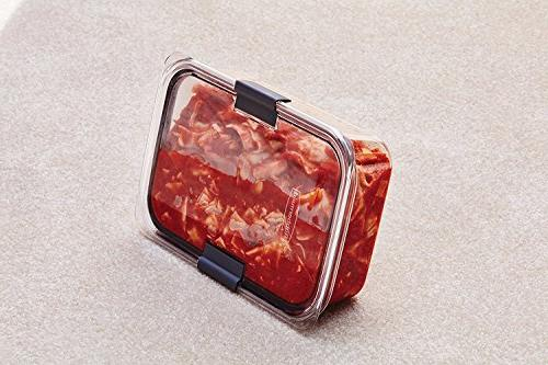 Rubbermaid Container, 100% Large, 9.6 Cup