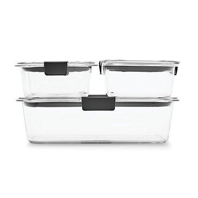 Rubbermaid Brilliance Food Container