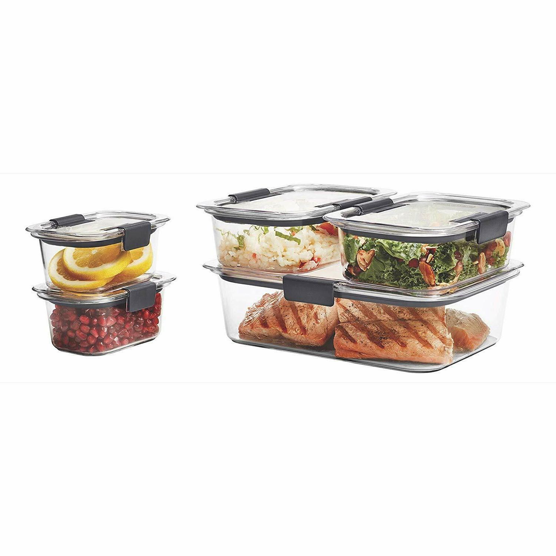 Rubbermaid Leak-Proof Food Storage with Lids