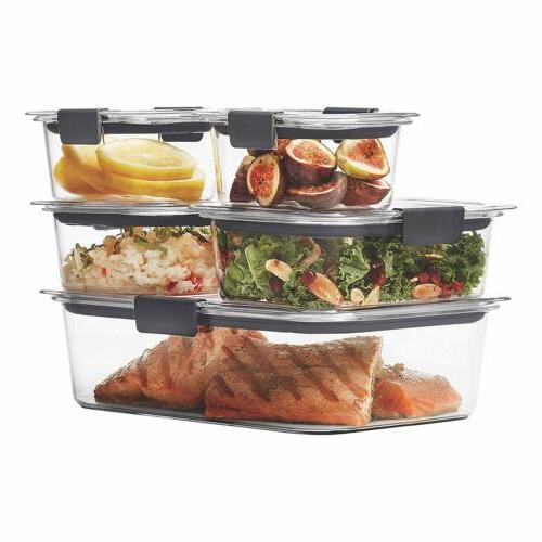 brilliance leak proof food storage containers
