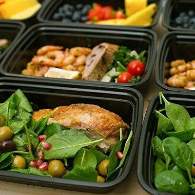 Bulks Meal Food Bento Box Plastic Compartment