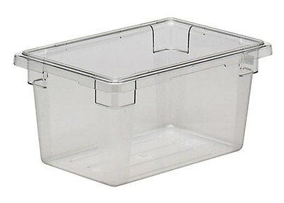 Cambro 12189CW135 Camwear 12in x 18in x 9in Clear Food Stora